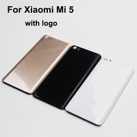 Original New 5 15 Inch With Logo Back Cover For Xiaomi Mi5 Housing Battery Door For