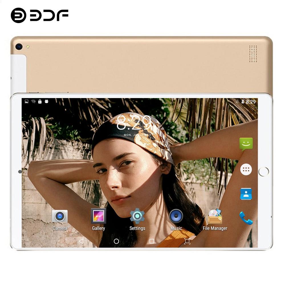 BDF Free Shipping Android 7.0 Quad Core 10.1 Inch Tablet Pc 1GB RAM 32GB ROM 5MP WiFi Dual SIM 3G Call IPS 1280*800 Pc Tablet 10