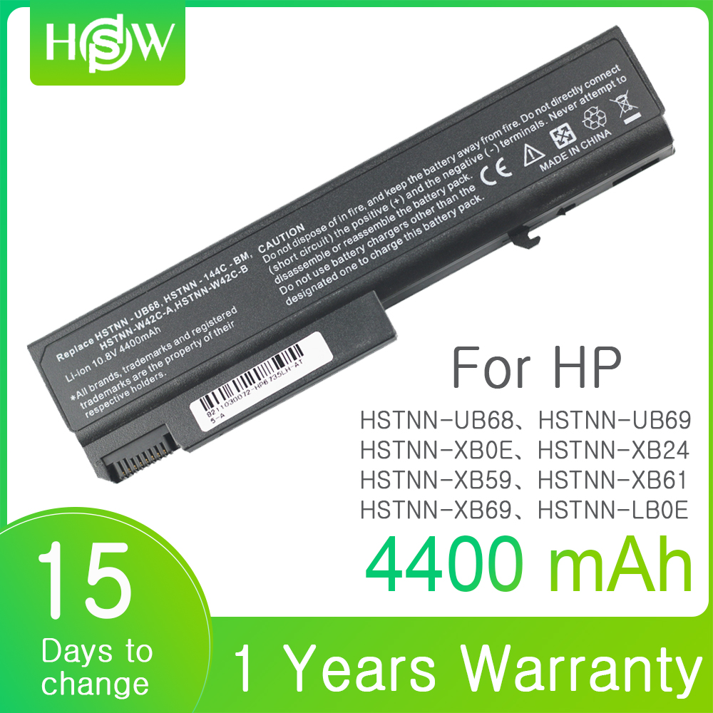 6 CELLS Laptop Battery For HP EliteBook 6930p 8440p ProBook 458640-542 6440b 6445b 6450b 6540b 6545b 6550b 6555b 6535b 6730b