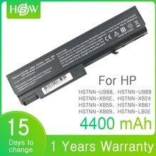6 hücreleri Laptop HP için batarya EliteBook 6930p 8440p ProBook 458640 542 6440b 6445b 6450b 6540b 6545b 6550b 6555b 6535b 6730b