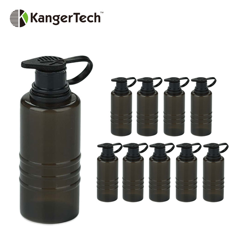 10pc Original Kanger Dripbox Spare Tank 7ml Handy Squeezable Bottle Vape Spare Part For 160W/60W Kangertech Dripbox Tank