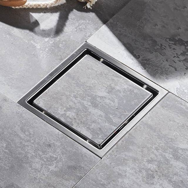 Genial Modern Bathroom Shower Floor Drain Washer Waste Invisible Anti Odor Drain  Deodorization Type Square Grate