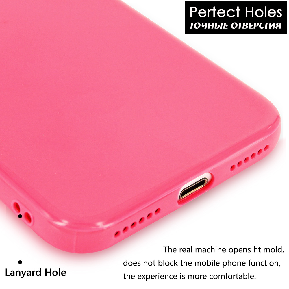KIP71147_6_Smooth Pure Color Series Soft TPU Case for iPhone 7