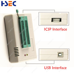 Image 3 - Programmatore Minipro universale TL866II Plus 100% originale con adattatori Clip di prova programmatore ad alta velocità TL866 PIC Bios