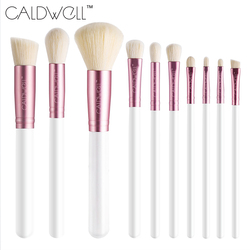 Caldwell new arrival makeup brushes professional cosmetics brush set 10 9pcs high quality top wool fiber.jpg 250x250