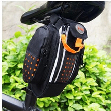 2013 The New High-quality Bike Tail Bag Bicycle Saddle Bag Back Seat Tail Pouch Personalized Riding Equipment Free shipping