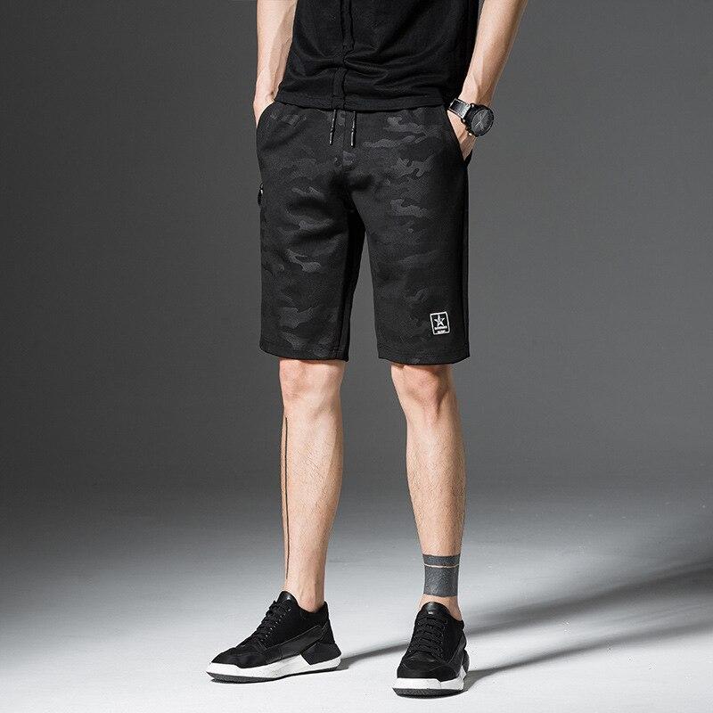 Mens Compression Shorts Men Fashion Camouflage Summer Shorts Beach sweatpants Plus Size 5XL Men Casual Fitness Shorts Hommes