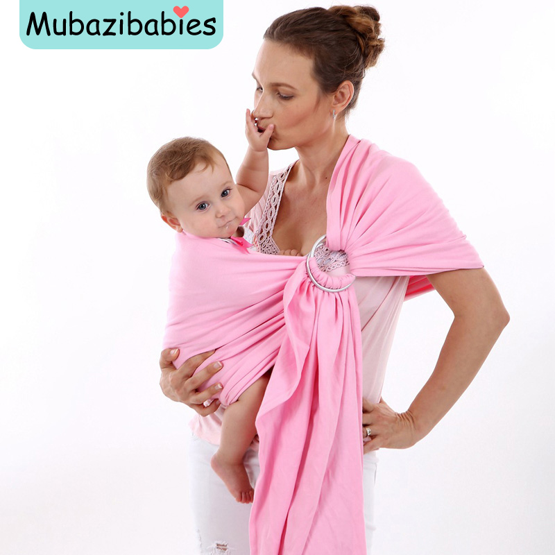 Vrbabies New Toddler Carrier Comfortable Breathable Baby Sling Kangaroo Cotton Stripe Baby Wrap Carrier