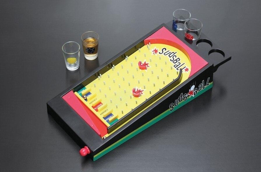roulette beber jogo de barra com 4 copos de vidro e 1 placa
