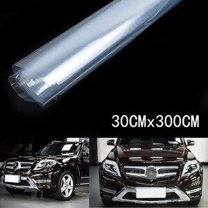 Image 5 - 11x118 투명 페인트 보호 비닐 필름 포장 투명 자동차 페인트 쉴드 새로운