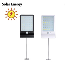 цены new 48/36 LED Waterproof PIR Motion Sensor Wall solar Lamp street Energy Saving Waterproof Outdoor Garden Security solar light