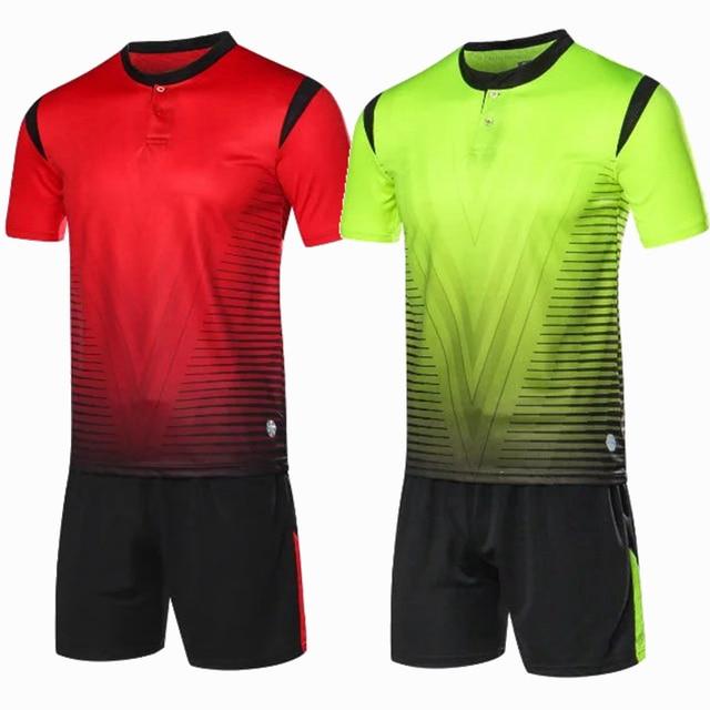 Encargo profesional adulto 2018 Camisetas de Soccer uniformes ropa de  fútbol barato kit fútbol transpirable camisa 62e29a1d21811