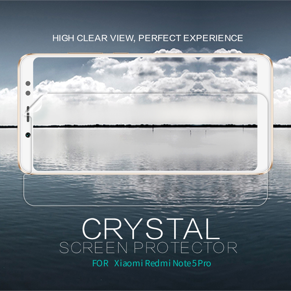 Nillkin Redmi Note 5 Screen Protector Clear / Matte Plastic Soft Protective Film For Xiaomi Redmi Note 5 Pro Not Glass