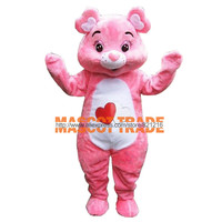 Care Bear Mascot Costume Custom Fancy Costume Anime Cosplay Mascotte for Halloween party event