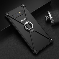 X Shape Ultra-Thin Aluminum Metal Bumper Mobile Phone Case for Samsung Galaxy Note 8 Protect Frame bag Cover &Ring Holder Case