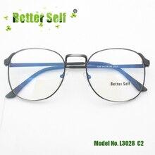 Better Self L3028 Korean Fashion Spectacles Quality Metal Eye Glasses Round Myopia Eyewear Frames