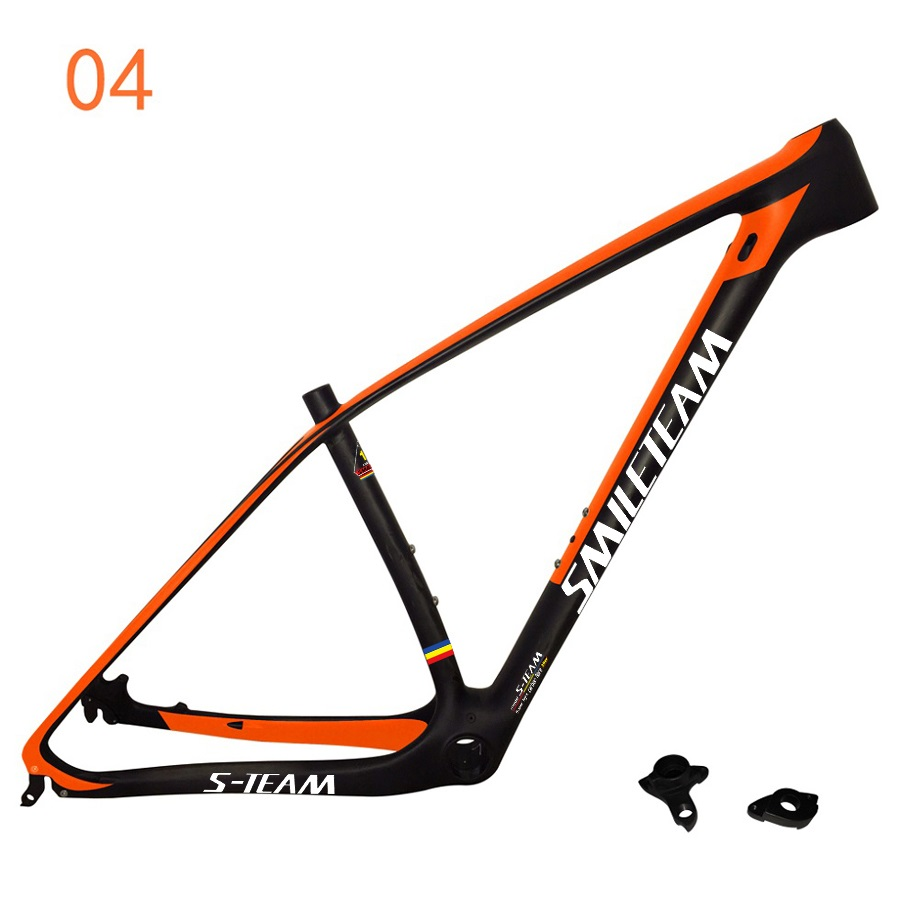SmileTeam 29er MTB T800 Full Carbon Bike Frame 29ER Bike Frame New Full Carbon UD Mountain Bike MTB Frame 29er Bicycle Frame smileteam new 27 5er 650b full carbon suspension frame 27 5er carbon frame 650b mtb frame ud carbon bicycle frame