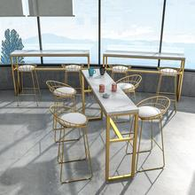 Простой барный стул из кованого железа, барный стул, золотой высокий стул, стул для отдыха, скандинавский барный стул, барный стул
