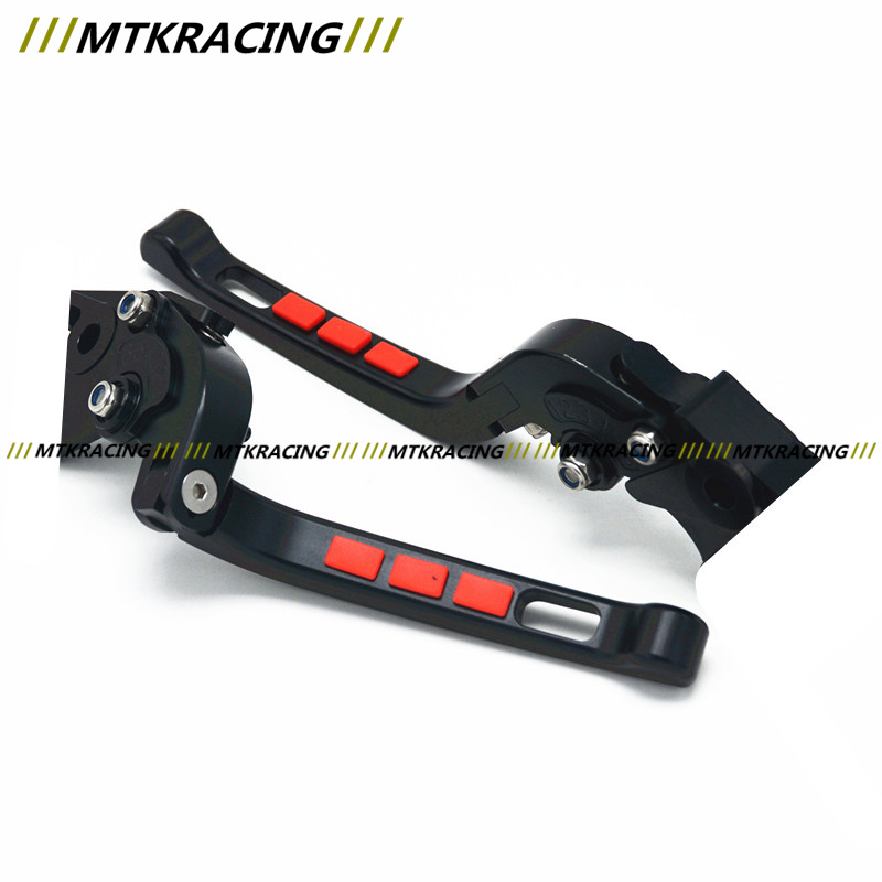 Free delivery Fit Triumph DAYTONA 600/650 SPRINT GT MotorcycleModifiedCNC Non-slip Handlebar single-Folding Brakes Clutch Levers