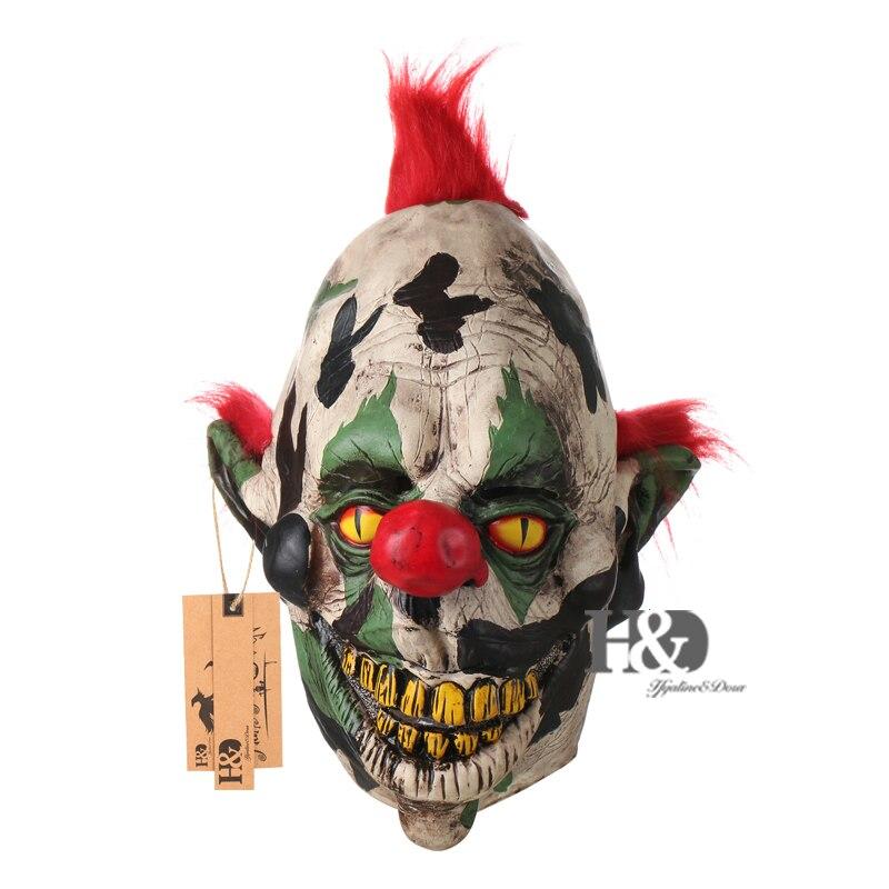 H&D Scary Orejas puntiagudas Fantasma Payaso Máscara Fiesta de - Para fiestas y celebraciones - foto 1