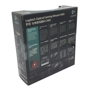 Image 4 - 100% original Logitech G400 Optische Gaming maus verdrahtete berufs player marke gmaing maus mit einzelhandel paket