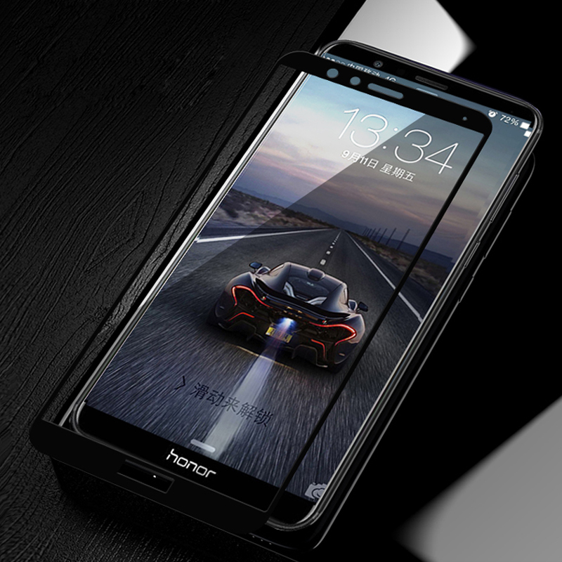 Huawei Honor 7X Glass Tempered Full Cover Tempered Glass For Huawei Honor 7X Screen