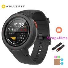 Xiao mi Hua mi AMAZFIT Verge 3 gps 390 мАч батарея умные часы AMOLED HR ответ на звонки встроенный nfc поддержка mi home Smart управление