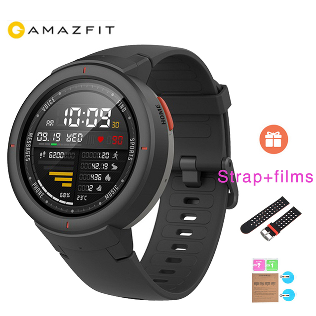 Xiaomi Huami AMAZFIT Verge 3 GPS 390mAh Battery Smart Watches AMOLED HR answer calls Built-in NFC Support Mi home smart control