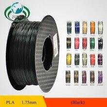 20 Farben Optionen 3d-drucker Filament 1,75mm PLA material 1 KG Kunststoff-gummi-material-verbrauchsmaterial für drucker Kostenloser versand