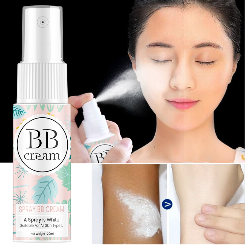 Spray Bb Cream Moisturizing Cover Defects Even Skin Color Breathable Bb Cream Spray image