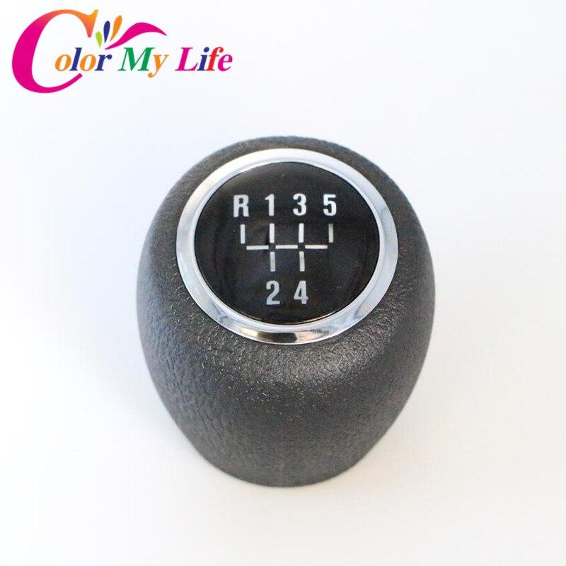 Color My Life Black Gear Shift Knob Gear Head Handball Case for Chevrolet Cruze 2009 2010 2011 2012 2014 2015 2016 Accessories цена
