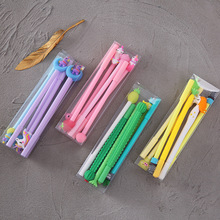 A lot lovely pen school office writing stationery, pineapple cactus Unicorn cartoon box neutral