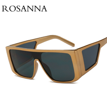 ROSANNA Fashion Oversized Square Sunglasses Women Brand Designer Vintage Shield Sun Glass Big Frame Female Luxury Shades Glasses поднос декоративный rosanna glasses