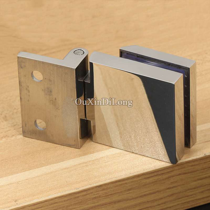 High Quality 4pcs 304 Stainless Steel Cabinet Hinges Wine Display