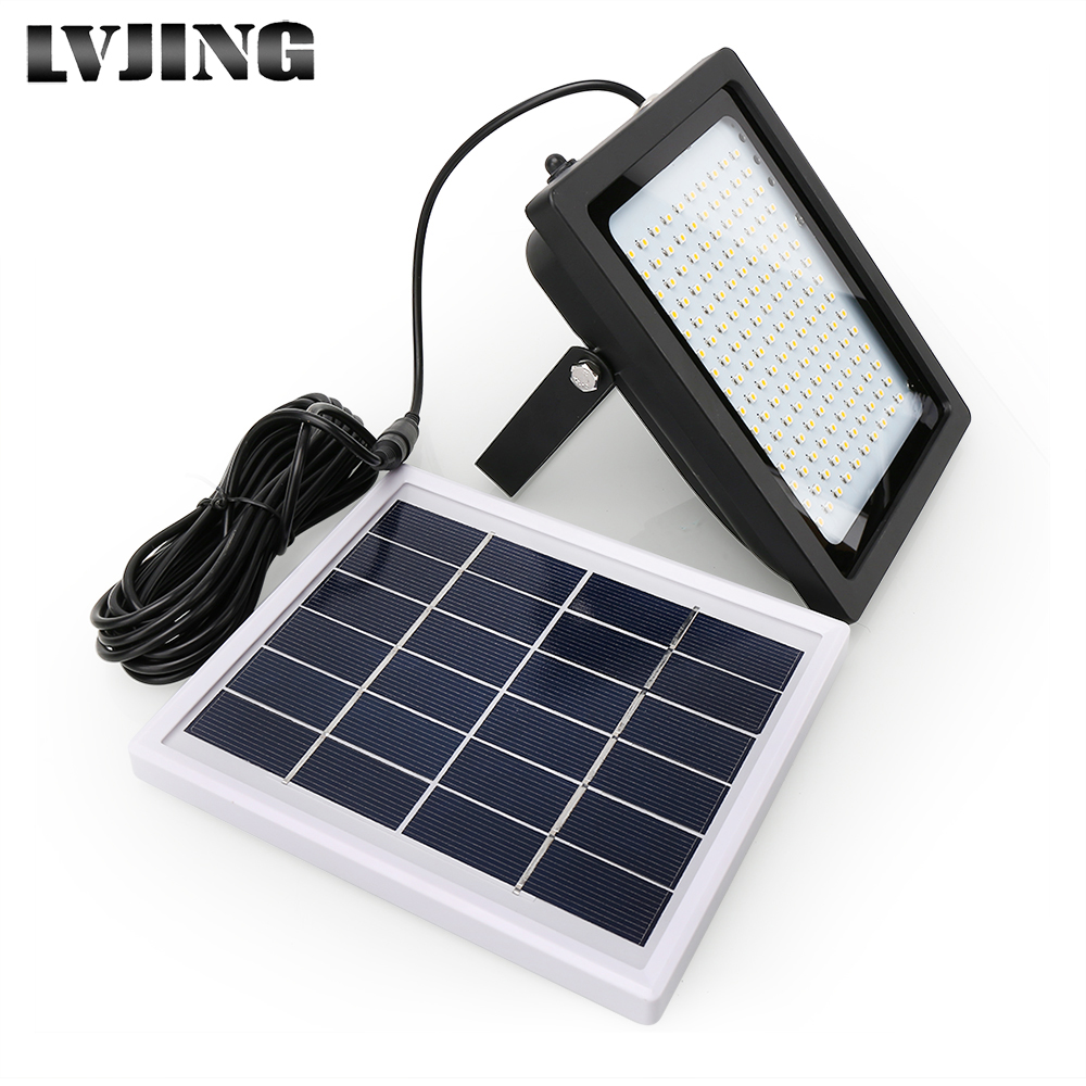 150 LED Solar Light Waterproof Outdoor Garden Park Solar Lamp Wall Lamp Security Emergency Floodlight for