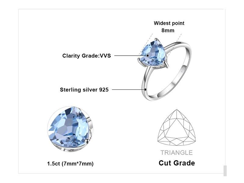 HTB1P9rnmGQoBKNjSZJnq6yw9VXaO JE Genuine Amethyst Citrine Peridot Garnet Topaz Ring Solitaire 925 Sterling Silver Rings for Women Silver 925 Gemstones Jewelry