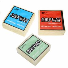1Pcs Natural Surfboard Skimboard Surf Wax Tropical/Warm/Cool/Cold Water Wax For Surfboard Surfing Sports(China)