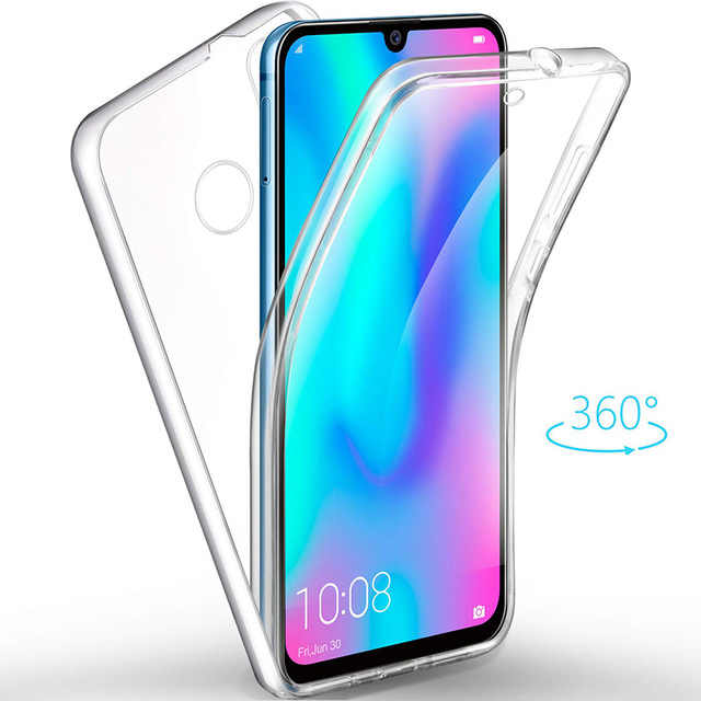 full body Clear Soft TPU PC PET Case Cover For Huawei P30 Mate 10 Pro 20 P20 Lite Pro P Smart 2019 Nova 3 3i funda Capa Coque