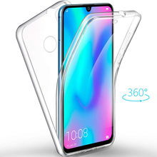full body Clear Soft TPU PC PET Case Cover For Huawei P30 Mate 10 Pro 20 P20 Lite Pro P Smart 2019 Nova 3 3i funda Capa Coque(China)