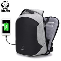 2018 Popular anti theft anti thief theft men's waterproof smart USB charging laptop mochilas bagpack backpack back pack bag men