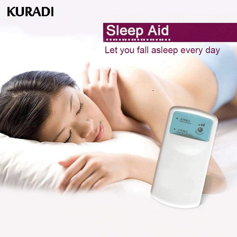Sommeil Instrument insomnie Cure conditionnement hypnose Point d'acupuncture Massage sommeil aide Machine avec piles pour dormir Relax