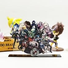 Danganronpa V3 Killing Harmony acrylic stand figure model plate holder topper anime Monobear Kaito Kaede Shuuichi Kiibo Maki