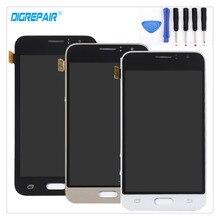 """4.5 """"Siyah/Beyaz/Altın Samsung Galaxy J1 J120 J120F J120M J120H LCD Ekran Sayısallaştırıcı Dokunmatik ekran Panel Montaj Parçaları + Araçlar"""