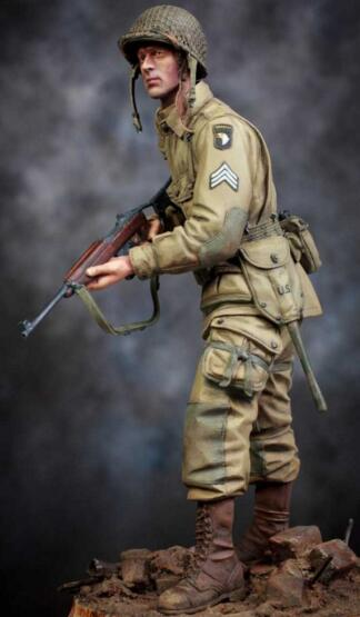 1/16 Resin Kits US Airborne 1pc Model Figures