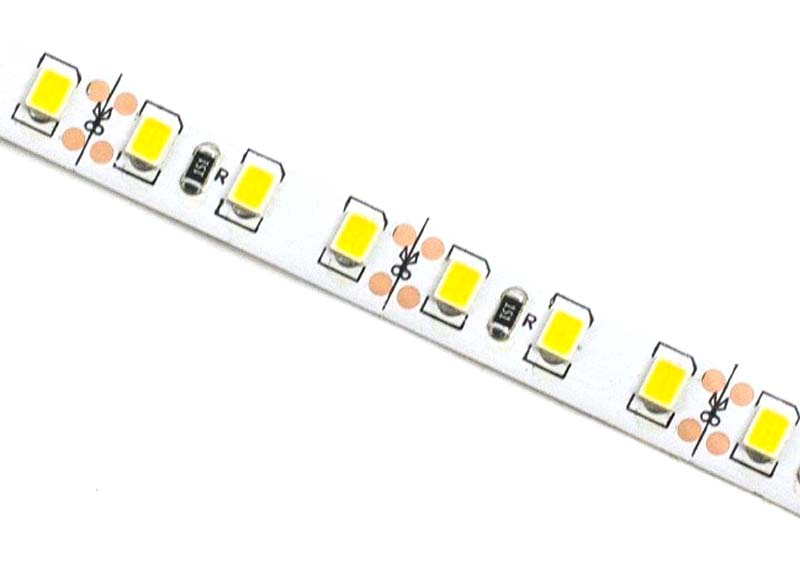 12 V 120 LED/m 5 m /lot 2835  LED strip flexible light white warm white green yellow red blue 2835 no-waterproof led strip