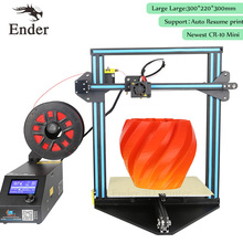 CR-10 Mini 3D printer DIY KIT Auto Resume Print after Power 3D Printer Print size 300*220*300mm n filament+Hotbed (Creality 3D)