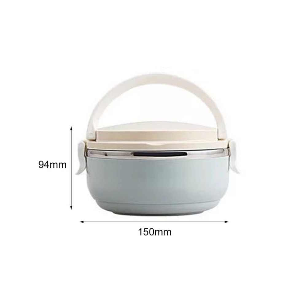 Compact Size Home Office Lunch Box Thermal For Food Bento Box Stainless Steel Lunch Box For Kids Portable Picnic