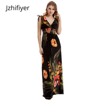 Plus Size Maxi Black Dresses Women S Oversized Summer Beach Tunic Bohemian Femme Casual Sarong Slim