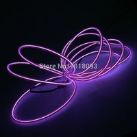 High grade 10 Colors available 10Meters 5.0mm Flexible EL wire LED Strip Neon Lights Glowing products DC 3V Drive Light up
