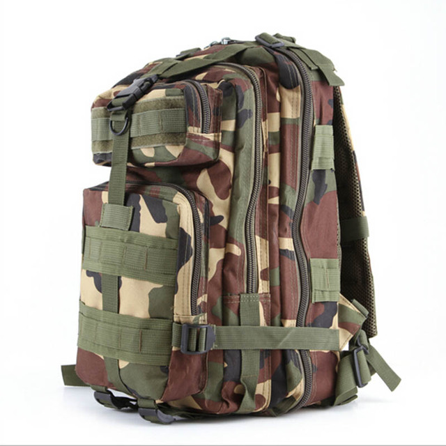 ccbc23bc5b04 Outdoor 12 Colors 40L Men s 3P Military Tactical Camouflage Backpack Women  Camping Hiking Mountaineering Waterproof Travel